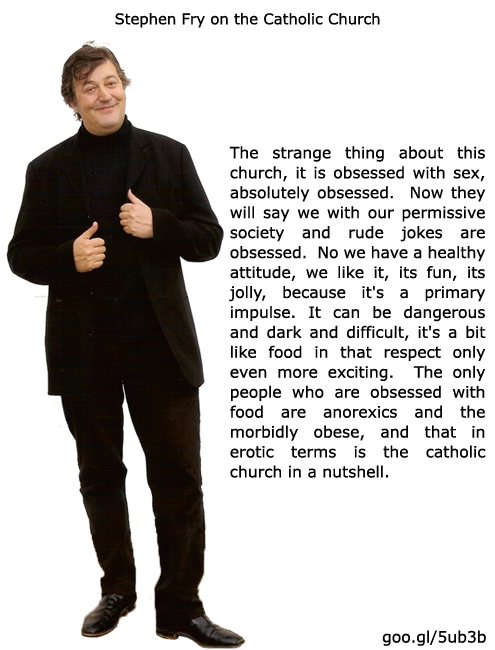 Stephen Fry Quotes God